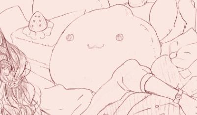 004『お昼寝』:SSSお題らくがき
